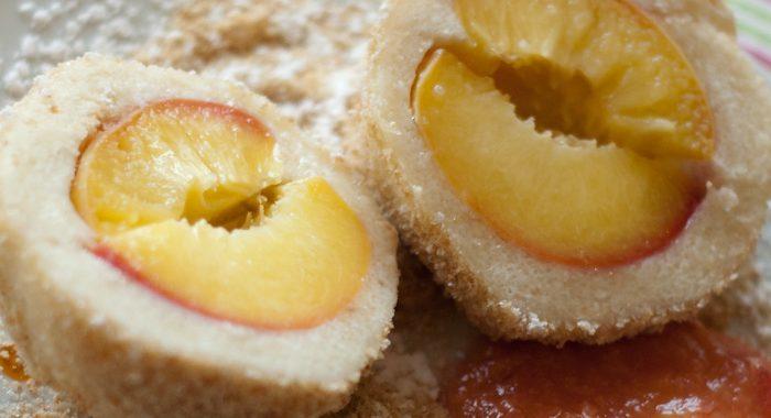 Pfirsichknödel
