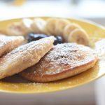 Dinkel-Bananen-Pancakes